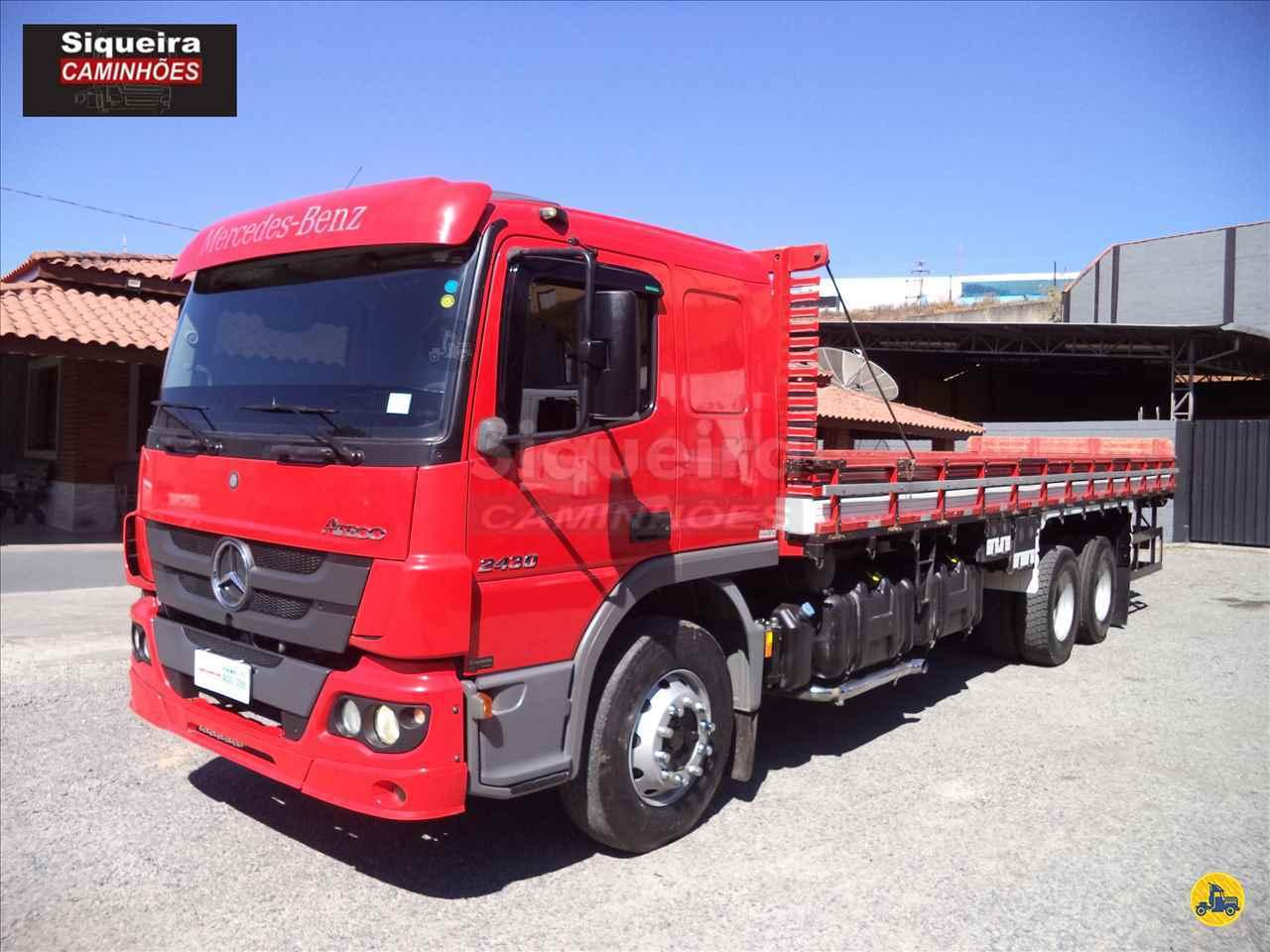 CAMINHAO MERCEDES-BENZ MB 2430 Carga Seca Truck 6x2 Siqueira Caminhões BRAGANCA PAULISTA SÃO PAULO SP