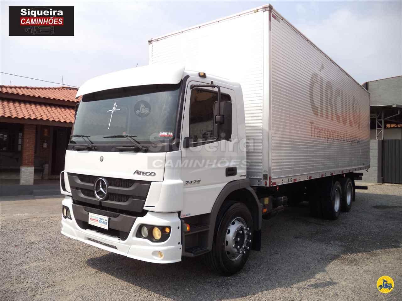 CAMINHAO MERCEDES-BENZ MB 2426 Baú Furgão Truck 6x2 Siqueira Caminhões BRAGANCA PAULISTA SÃO PAULO SP