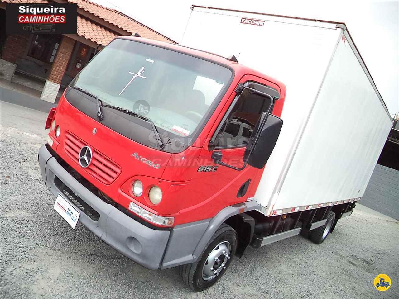 CAMINHAO MERCEDES-BENZ MB 915 Baú Furgão 3/4 4x2 Siqueira Caminhões BRAGANCA PAULISTA SÃO PAULO SP
