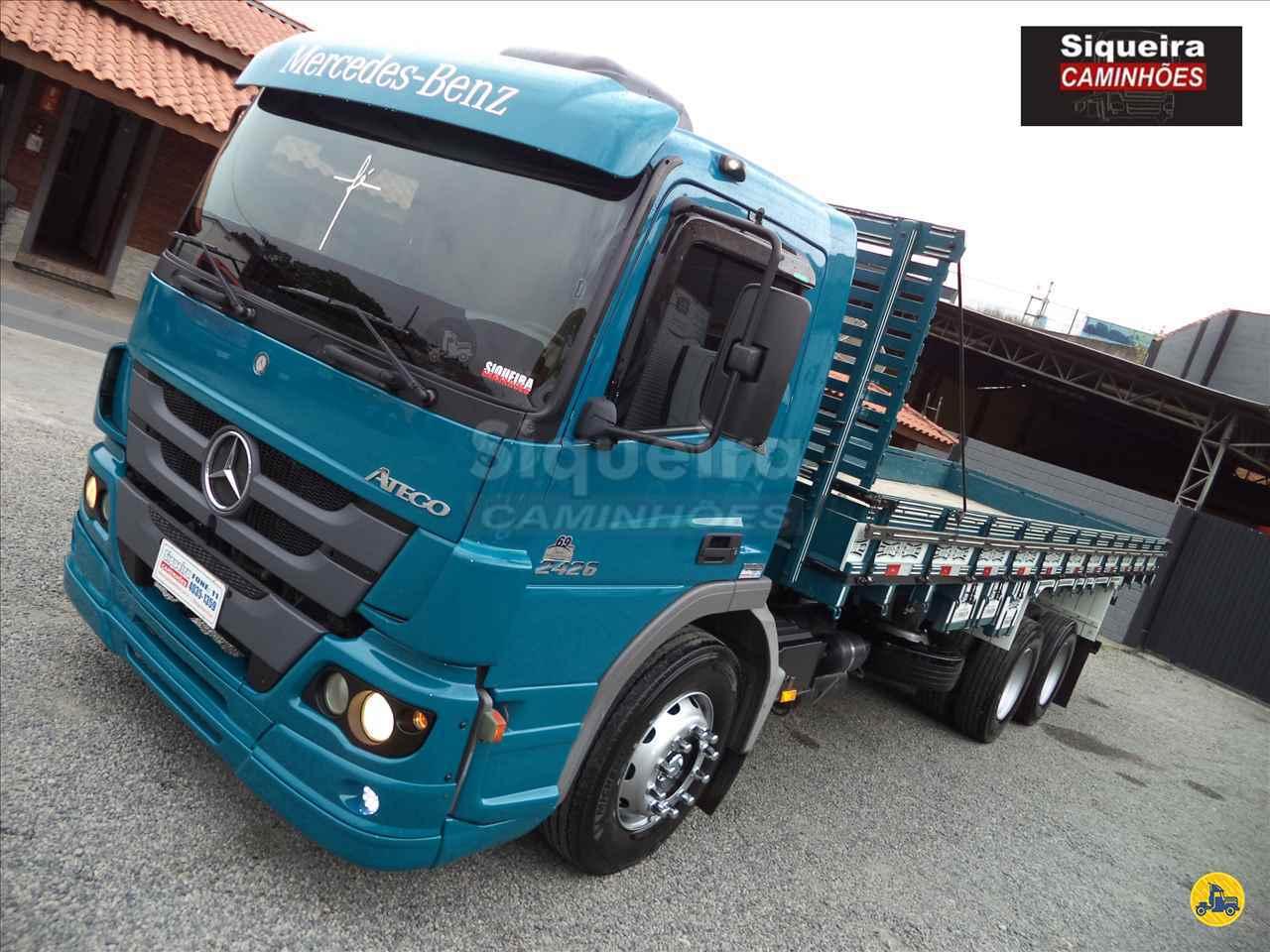 CAMINHAO MERCEDES-BENZ MB 2426 Carga Seca Truck 6x2 Siqueira Caminhões BRAGANCA PAULISTA SÃO PAULO SP