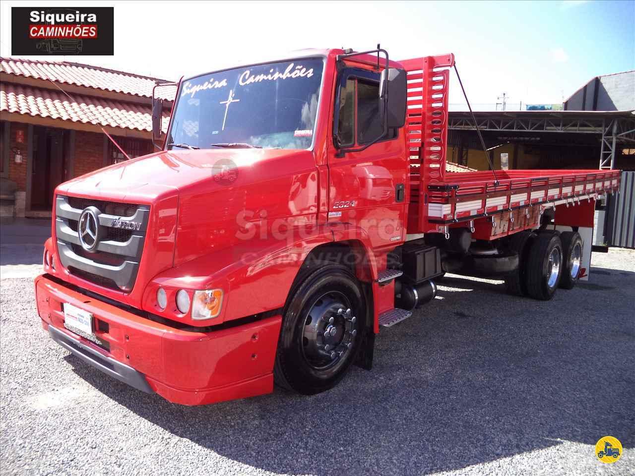 CAMINHAO MERCEDES-BENZ MB 2324 Carga Seca Truck 6x2 Siqueira Caminhões BRAGANCA PAULISTA SÃO PAULO SP