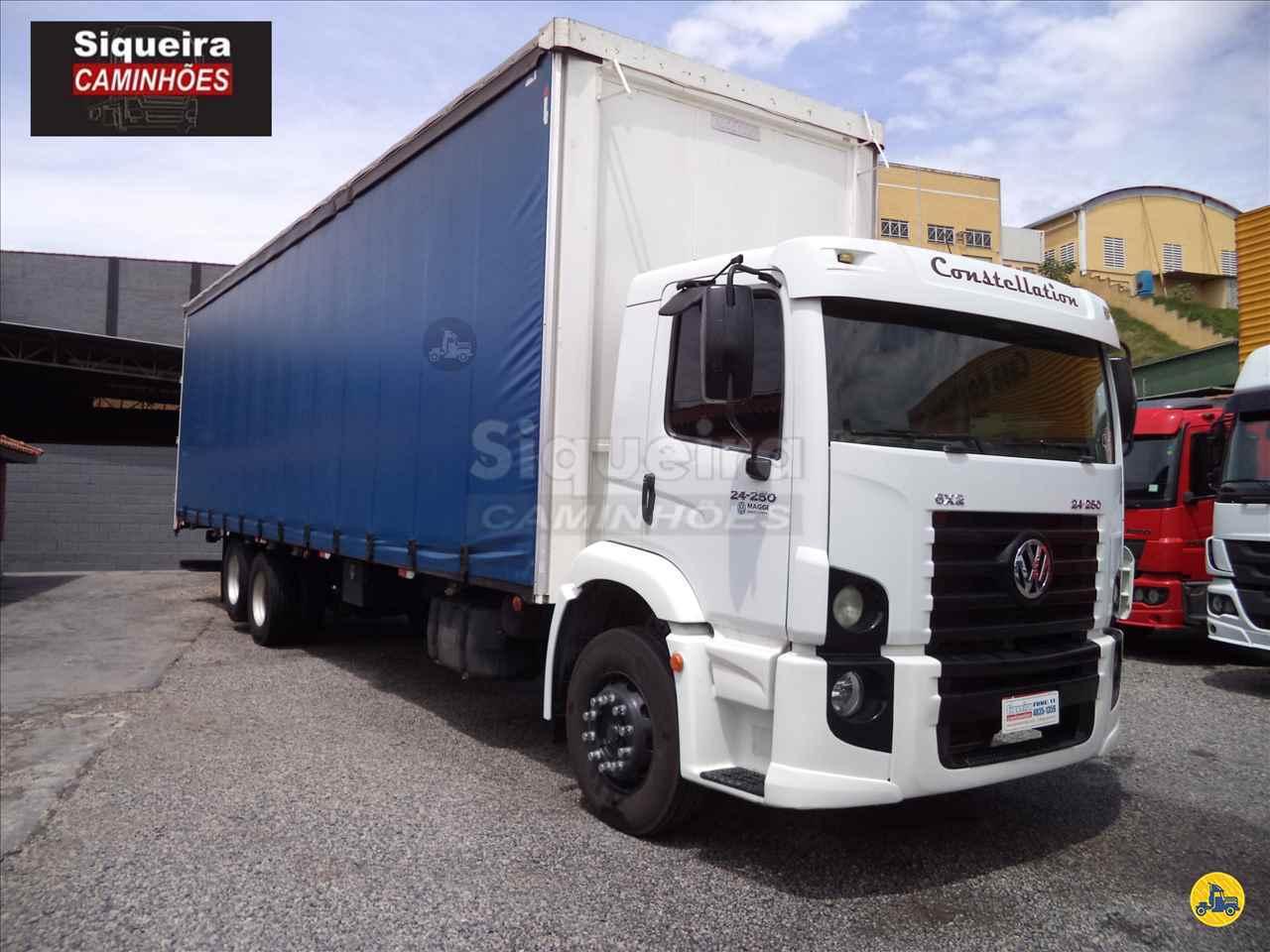 CAMINHAO VOLKSWAGEN VW 24250 Baú Sider Truck 6x2 Siqueira Caminhões BRAGANCA PAULISTA SÃO PAULO SP