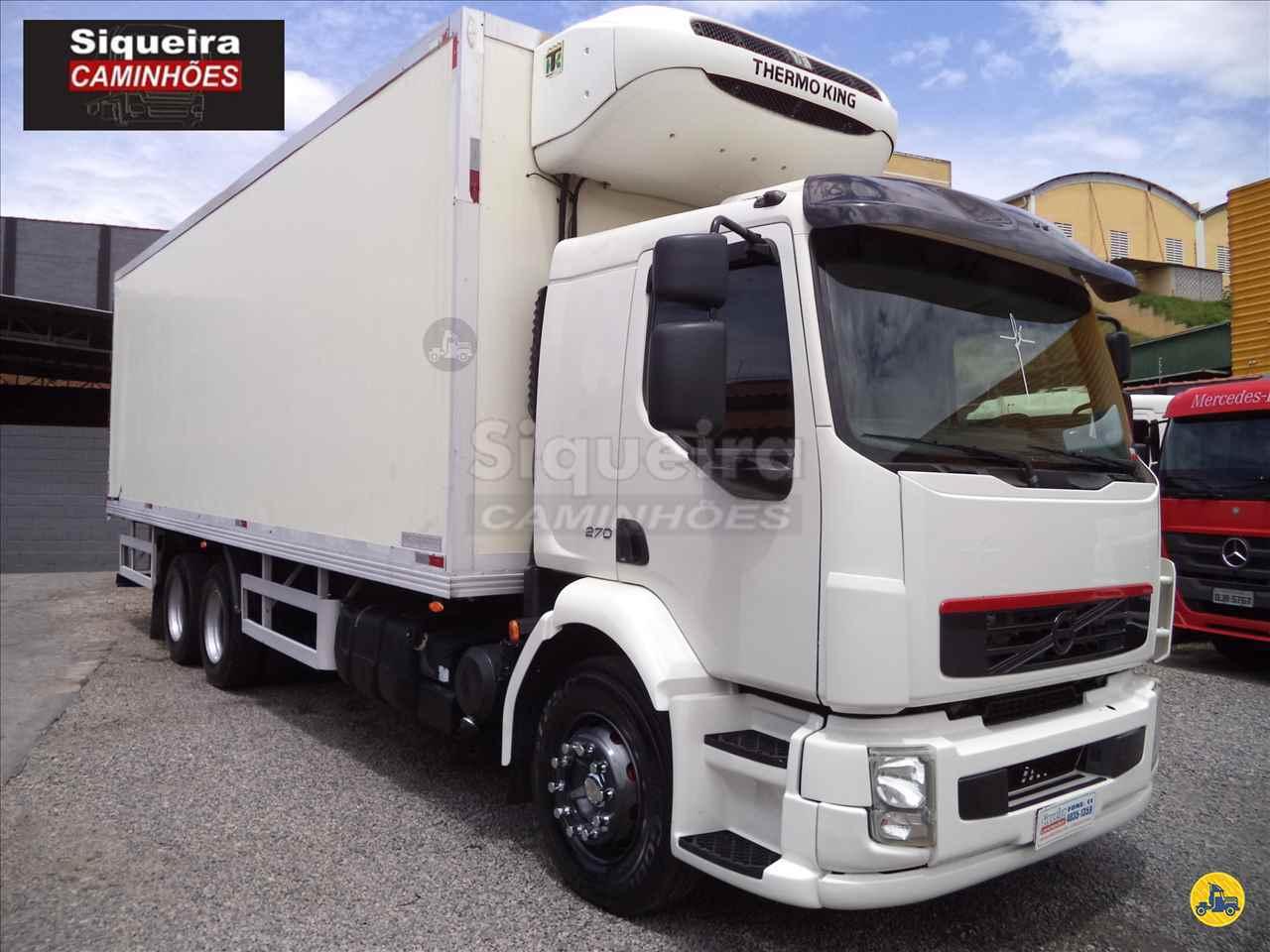 CAMINHAO VOLVO VOLVO VM 270 Baú Frigorífico Truck 6x2 Siqueira Caminhões BRAGANCA PAULISTA SÃO PAULO SP