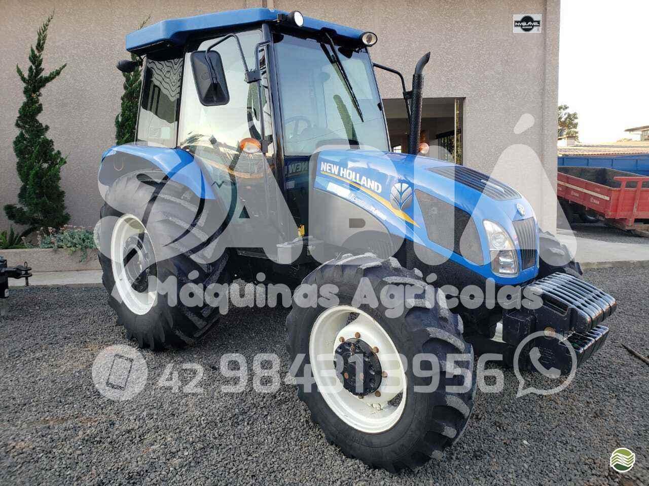 TRATOR NEW HOLLAND NEW TL 75 Tração 4x4 Sabiá Máquinas Agrícolas - Landini IRATI PARANÁ PR