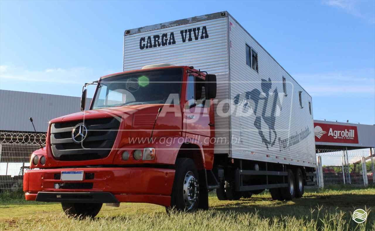 CAMINHAO MERCEDES-BENZ MB 1618 Chassis Truck 6x2 AGROBILL Tratores & Implementos Agrícolas SALTINHO SÃO PAULO SP