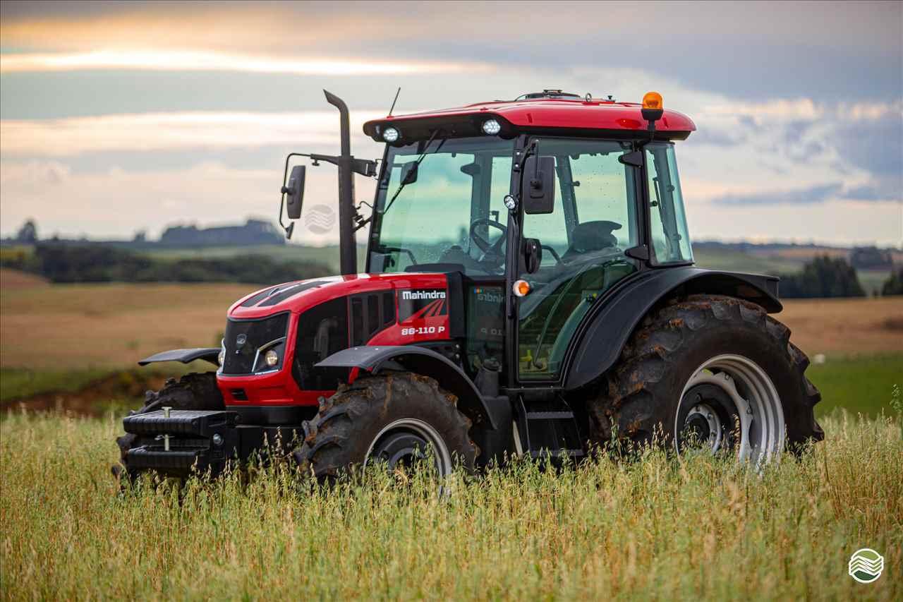 TRATOR MAHINDRA 86-110P Tração 4x4 Tratorama Máquinas e Implementos Agrícolas - Mahindra PAPANDUVA SANTA CATARINA SC