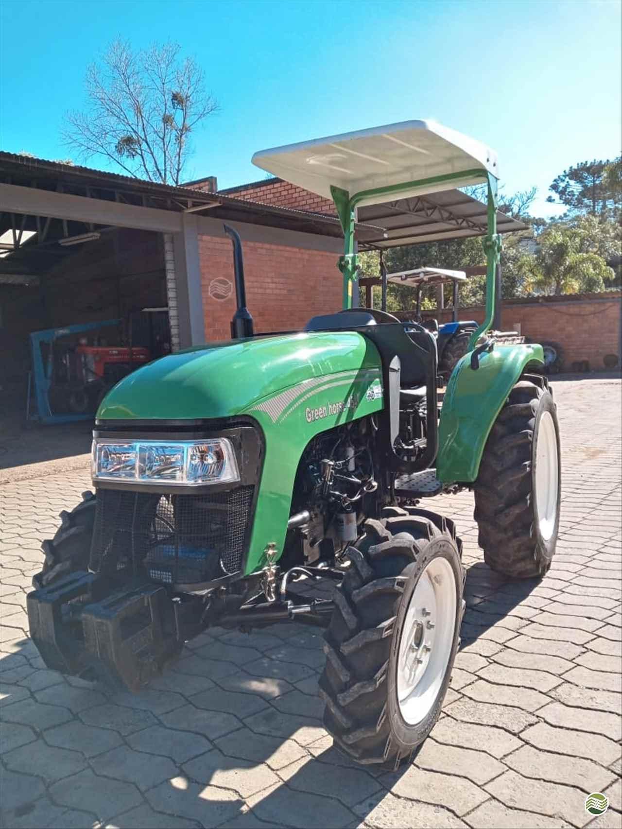 TRATOR GREEN HORSE GREEN 454 Tração 4x4 Tratorama Máquinas e Implementos Agrícolas - Mahindra PAPANDUVA SANTA CATARINA SC