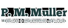 Logo P. M. Muller Maquinas e Implementos Agrícolas