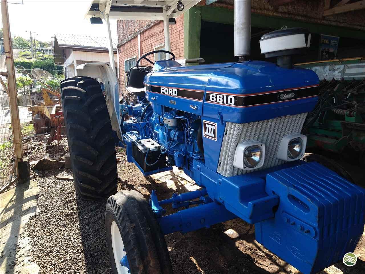 TRATOR FORD FORD 5610 Tração 4x2 P. M. Muller Maquinas e Implementos Agrícolas SALTO DO LONTRA PARANÁ PR