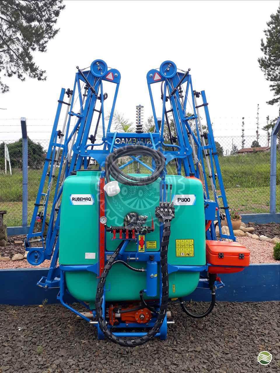 PULVERIZADOR RUBEMAQ PULV. 600  HIDRAULICO  Acoplado Hidráulico RD Tratores PAULO FRONTIN PARANÁ PR