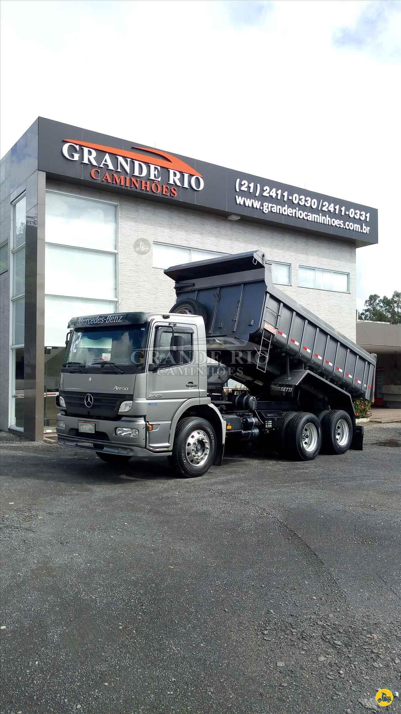 CAMINHAO MERCEDES-BENZ MB 2425 Caçamba Basculante Truck 6x2 Grande Rio Caminhões RIO DE JANEIRO RIO DE JANEIRO RJ