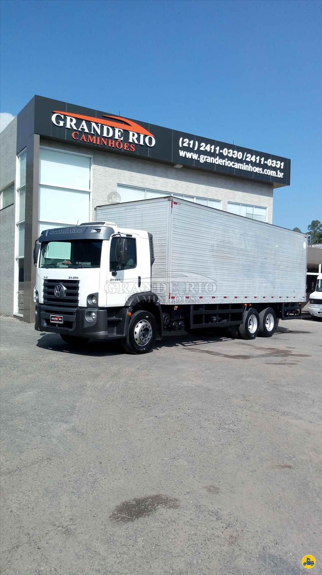 CAMINHAO VOLKSWAGEN VW 24250 Baú Furgão Truck 6x2 Grande Rio Caminhões RIO DE JANEIRO RIO DE JANEIRO RJ