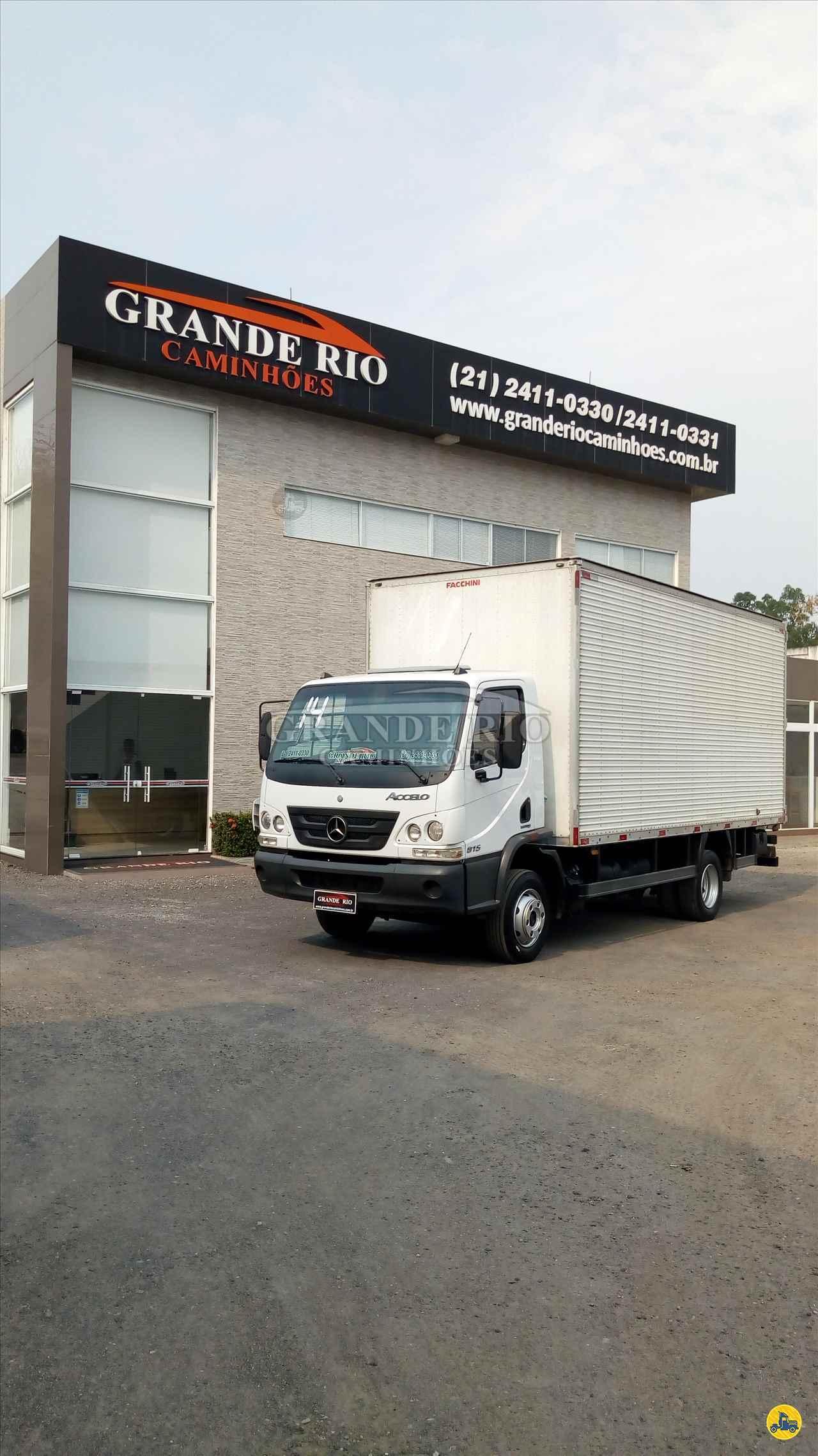 MB 815 de Grande Rio Caminhões - RIO DE JANEIRO/RJ