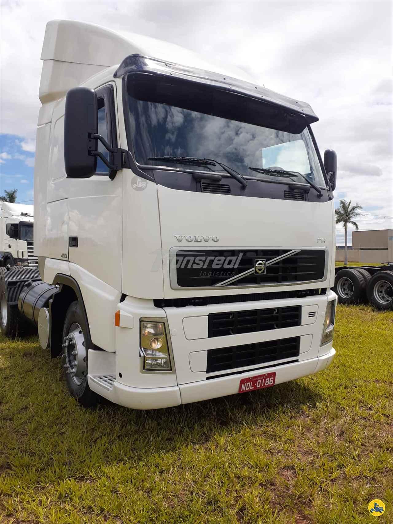 CAMINHAO VOLVO VOLVO FH 400 Cavalo Mecânico Truck 6x2 Transportadora Trans Real São José do Rio Preto SÃO PAULO SP