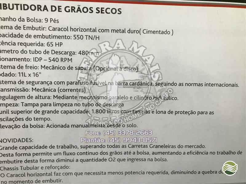CARRETA BAZUKA GRANELEIRA 15000 BAZUKA  2020 Terra Mais Implementos Agrícolas