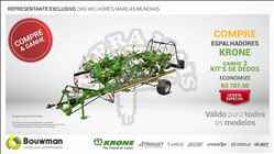 KRONE ENFARDADEIRA FORTIMA  20 Terra Mais Implementos Agrícolas