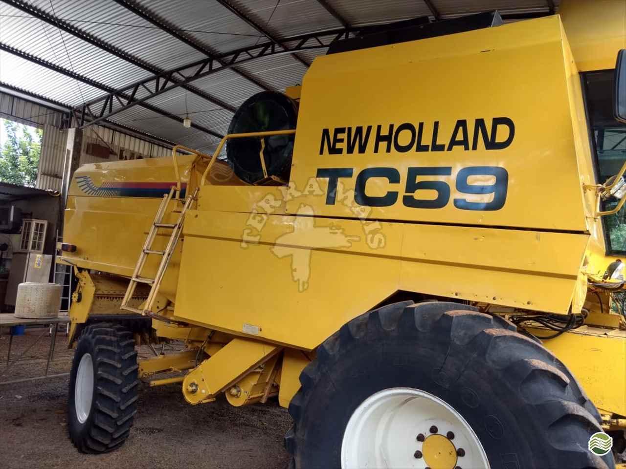 NEW HOLLAND TC 59  2003/2003 Terra Mais Implementos Agrícolas