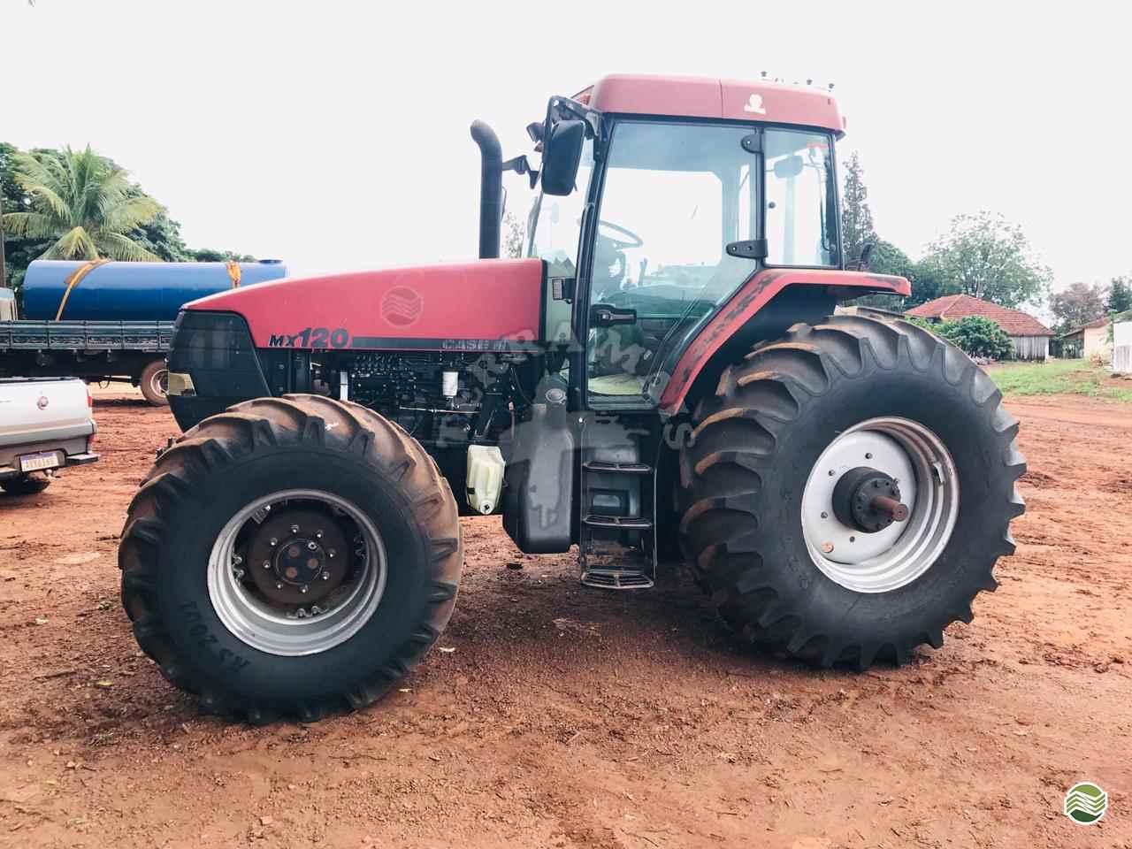 TRATOR CASE CASE MX 120 Tração 4x4 Terra Mais Implementos Agrícolas TOLEDO PARANÁ PR