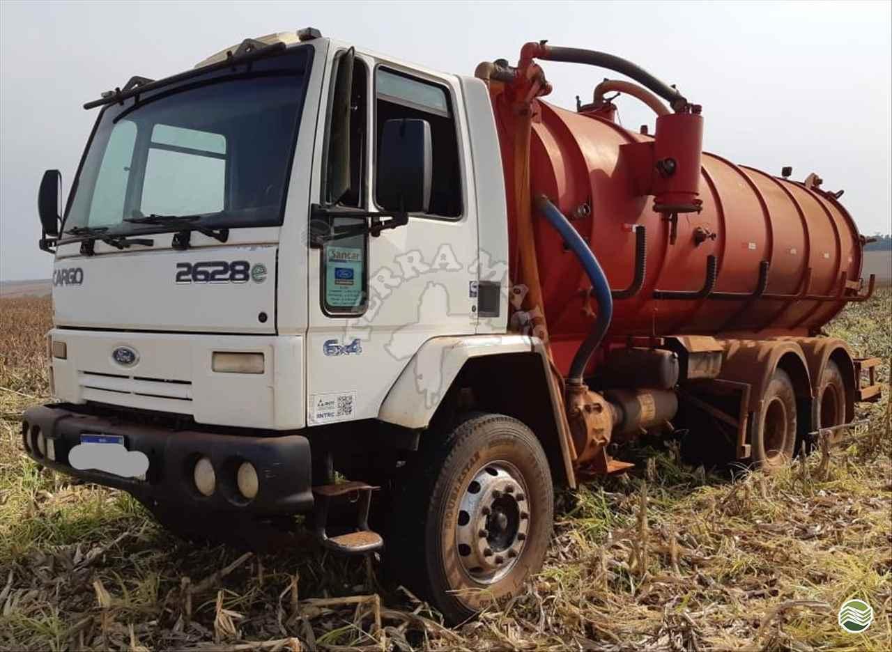 CAMINHAO FORD CARGO 2628 Distribuidor de Fertilizantes Traçado 6x4 Terra Mais Implementos Agrícolas TOLEDO PARANÁ PR