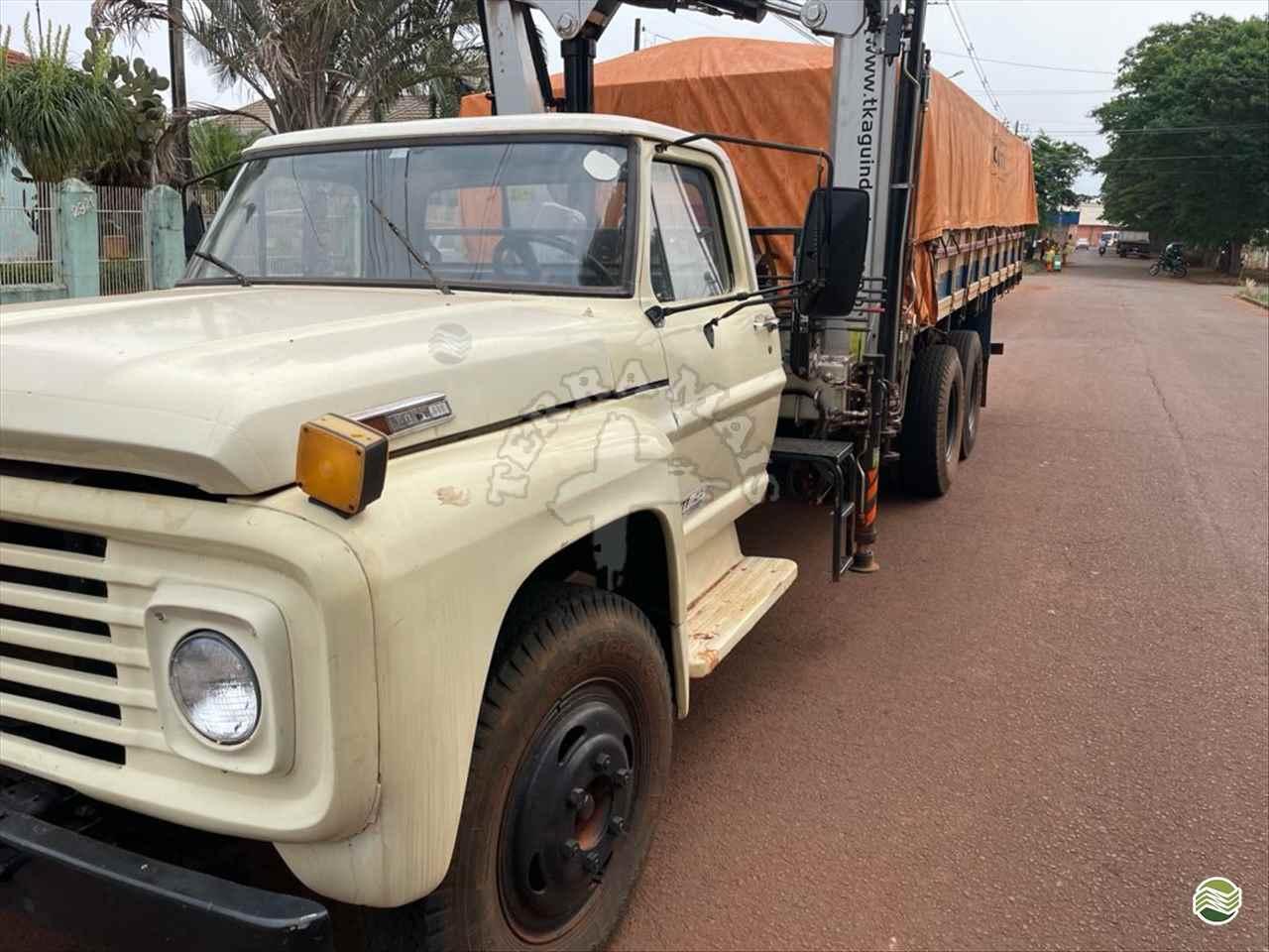 CAMINHAO FORD F700 Graneleiro Truck 6x2 Terra Mais Implementos Agrícolas TOLEDO PARANÁ PR