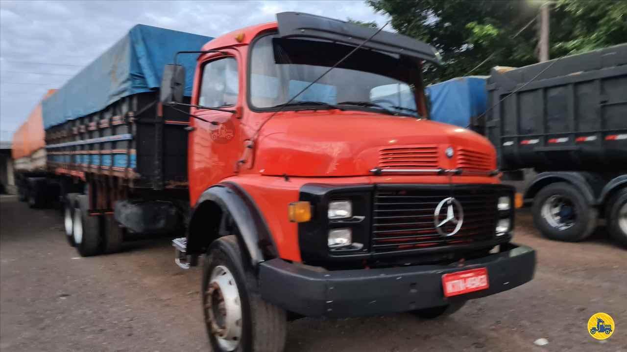 CAMINHAO MERCEDES-BENZ MB 1313 Graneleiro Truck 6x2 Indio Bandeira Caminhões CAMPO MOURAO PARANÁ PR
