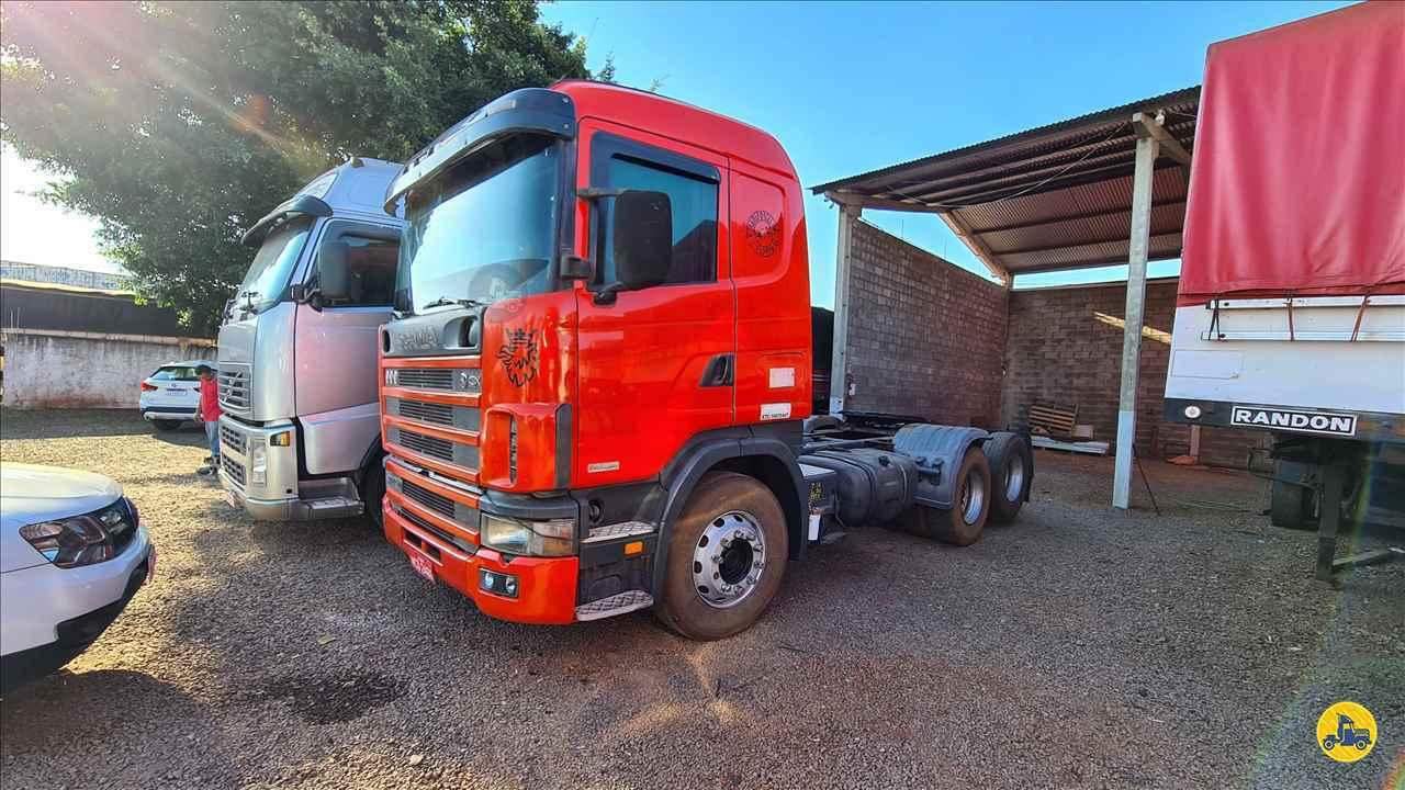 CAMINHAO SCANIA SCANIA 124 420 Cavalo Mecânico Truck 6x2 Indio Bandeira Caminhões CAMPO MOURAO PARANÁ PR