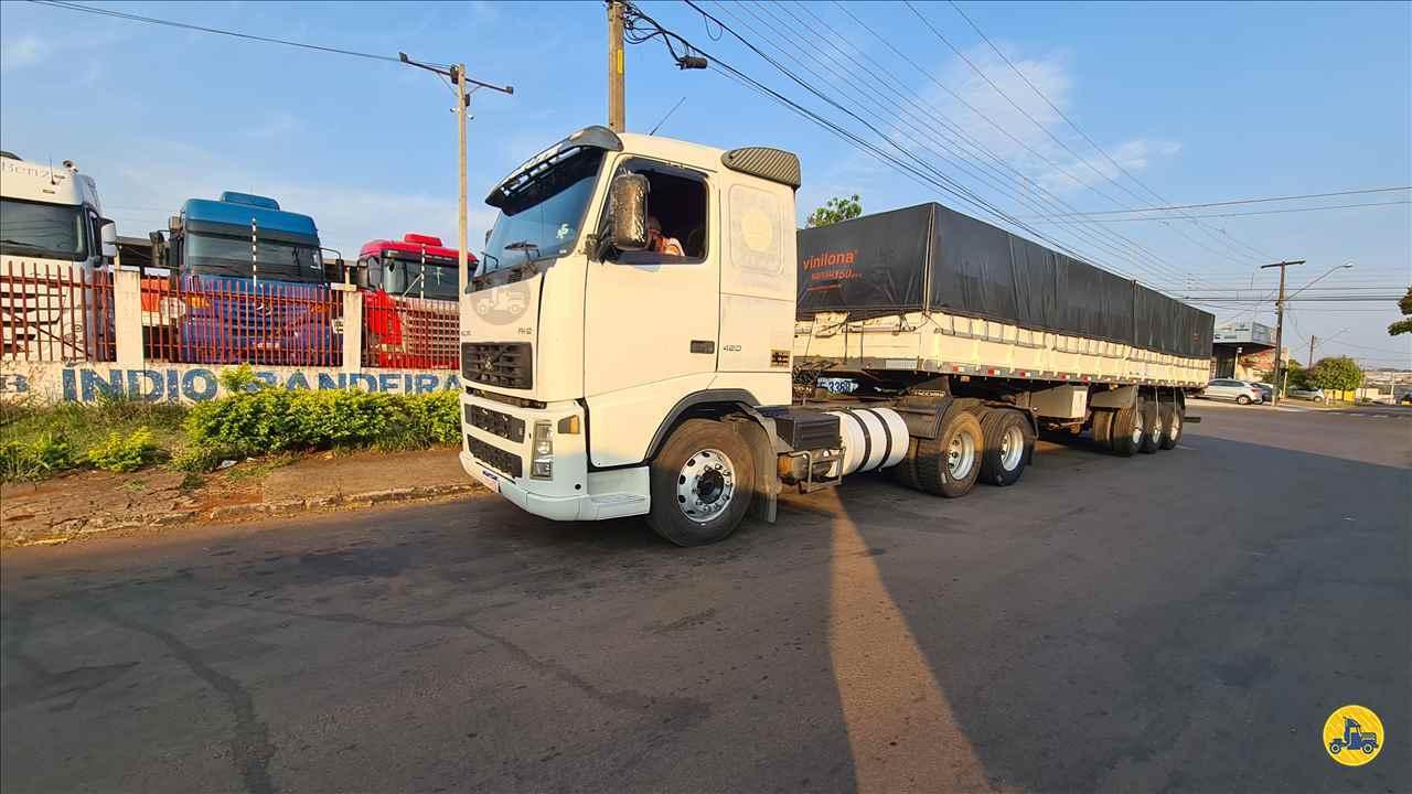 CAMINHAO VOLVO VOLVO FH 420 Cavalo Mecânico Truck 6x2 Indio Bandeira Caminhões CAMPO MOURAO PARANÁ PR
