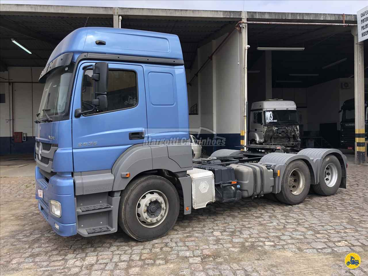CAMINHAO MERCEDES-BENZ MB 2536 Cavalo Mecânico Truck 6x2 Margotti Caminhões TUBARAO SANTA CATARINA SC