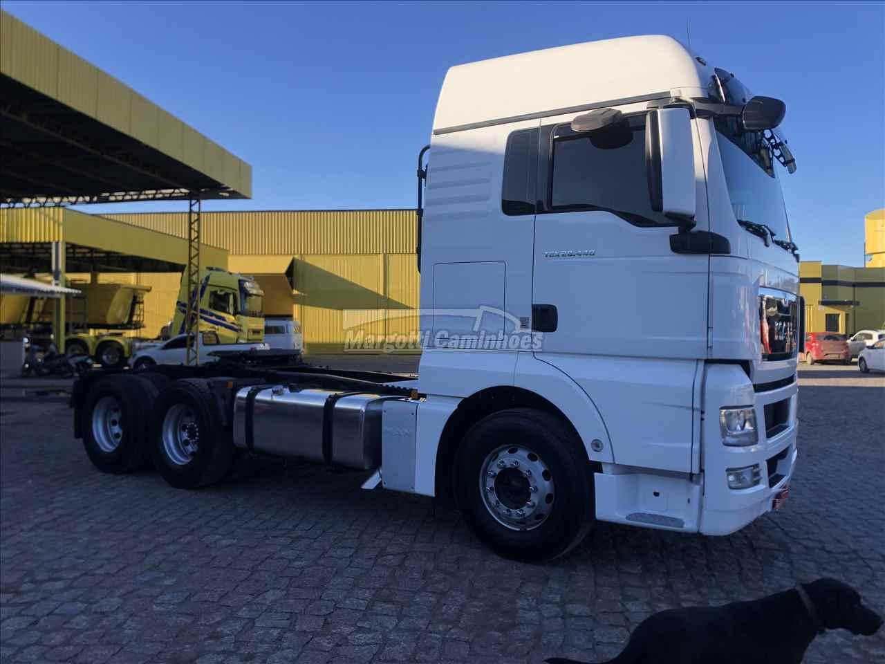 CAMINHAO MAN TGX 28 440 Cavalo Mecânico Truck 6x2 Margotti Caminhões TUBARAO SANTA CATARINA SC
