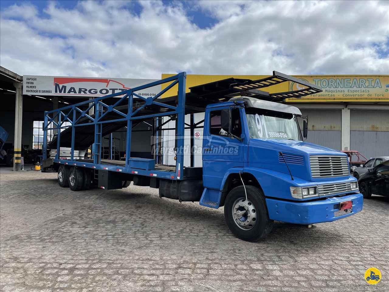 CAMINHAO MERCEDES-BENZ MB 1418 Cegonha Truck 6x2 Margotti Caminhões TUBARAO SANTA CATARINA SC