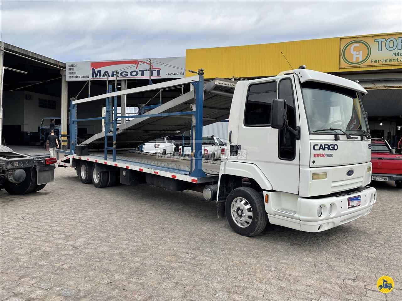 CAMINHAO FORD CARGO 815 Cegonha Truck 6x2 Margotti Caminhões TUBARAO SANTA CATARINA SC