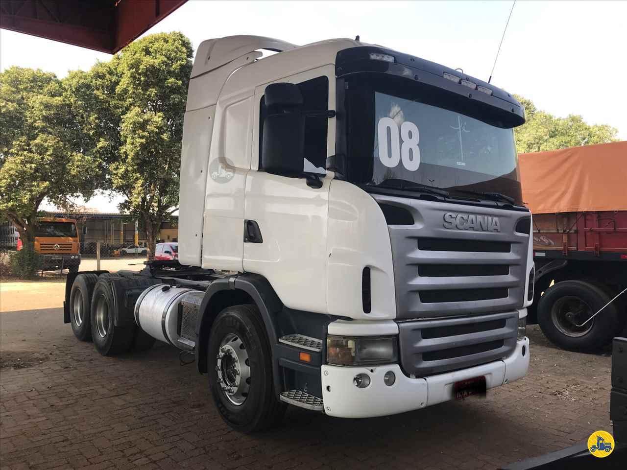 CAMINHAO SCANIA SCANIA 420 Chassis Truck 6x2 Geraldo Caminhões PATOS DE MINAS MINAS GERAIS MG