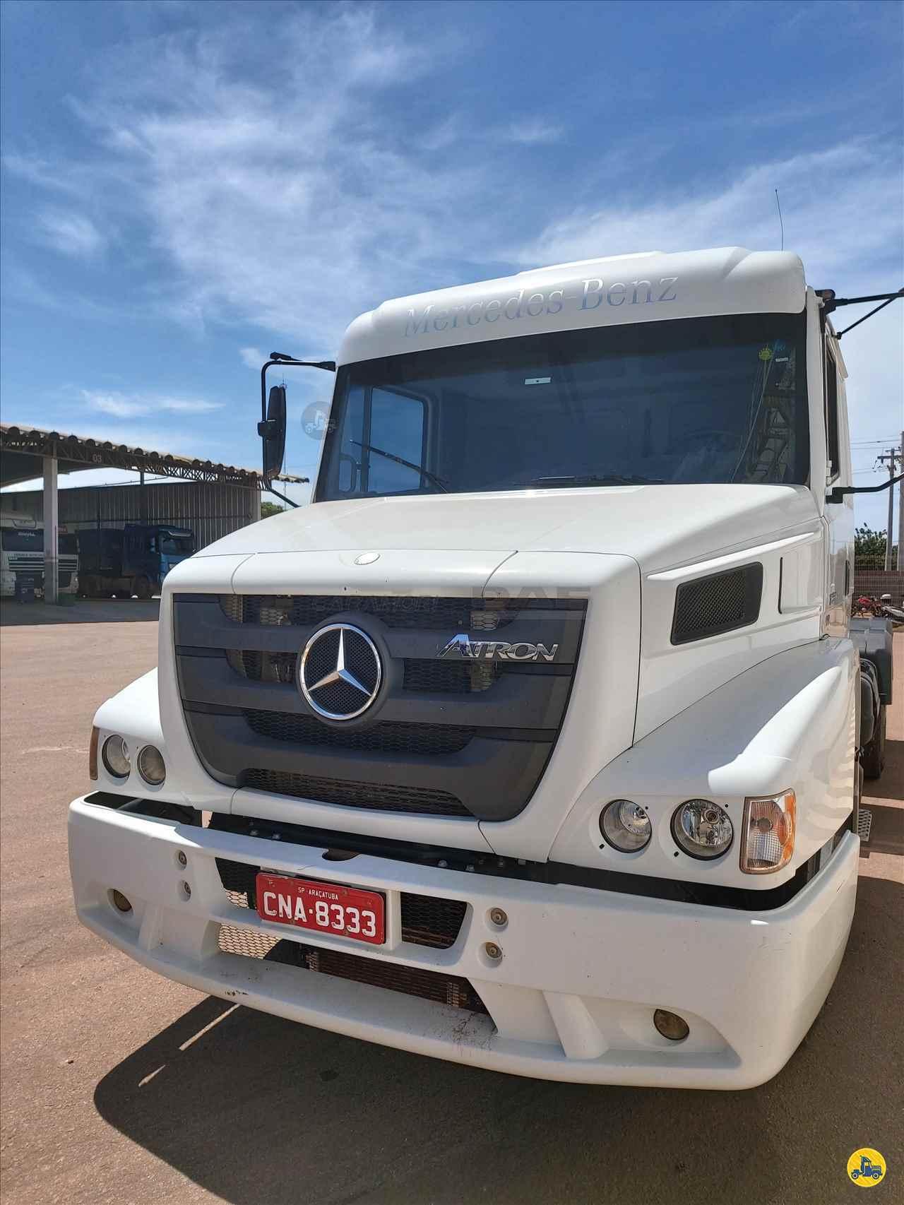CAMINHAO MERCEDES-BENZ MB 1635 Cavalo Mecânico Truck 6x2 DAF Caramori CUIABA MATO GROSSO MT
