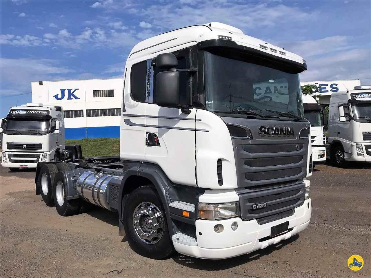 CAMINHAO SCANIA SCANIA 420 Cavalo Mecânico Truck 6x2 JK Caminhões PR SARANDI PARANÁ PR