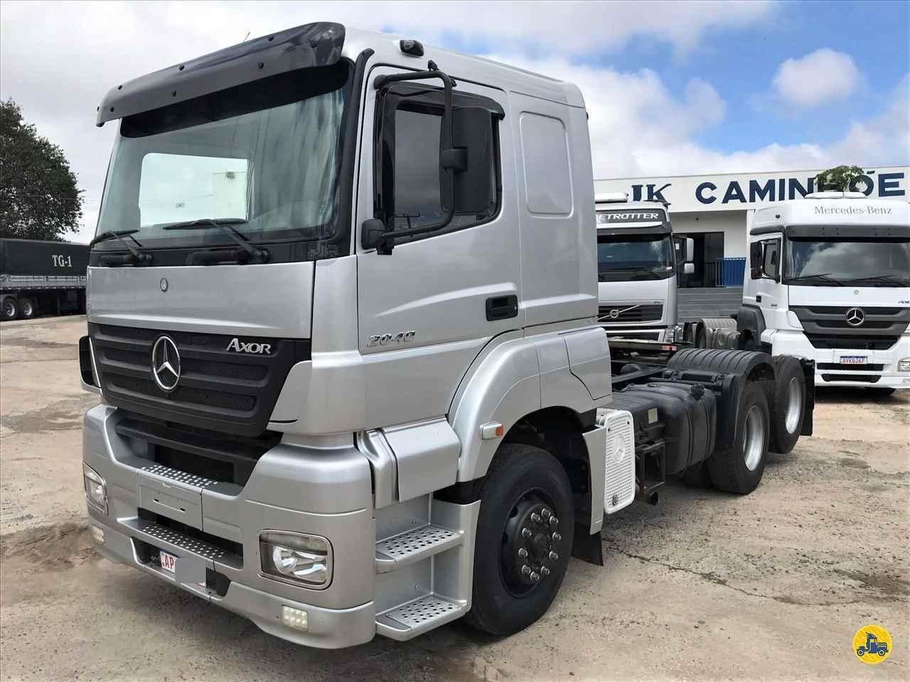 CAMINHAO MERCEDES-BENZ MB 2040 Cavalo Mecânico Truck 6x2 JK Caminhões PR SARANDI PARANÁ PR