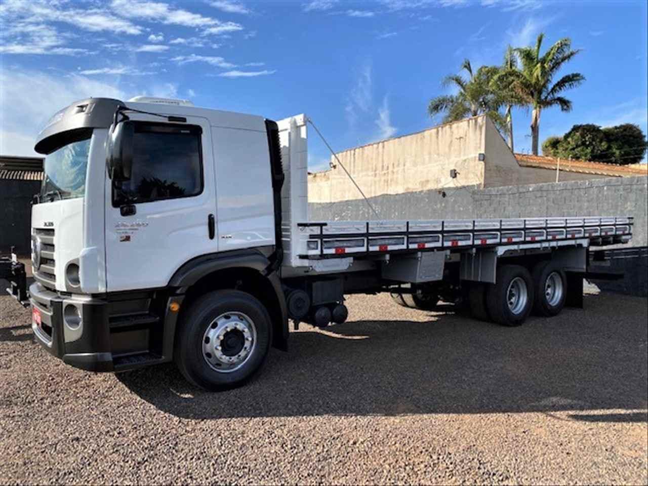 CAMINHAO VOLKSWAGEN VW 24280 Carga Seca Truck 6x2 Jaime Caminhões RIBEIRAO PRETO SÃO PAULO SP