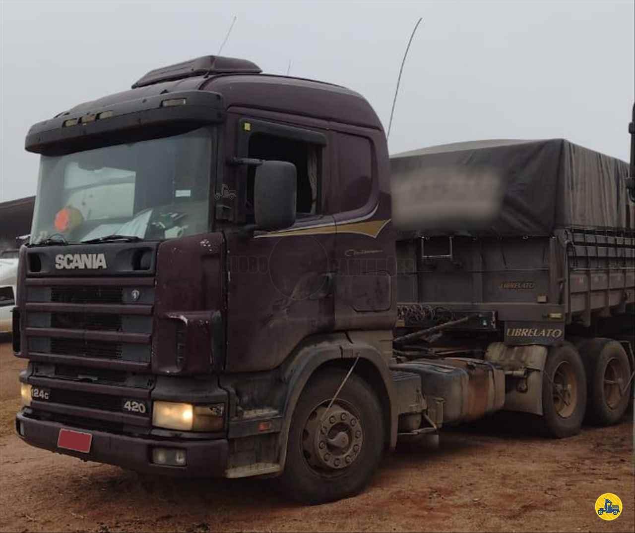 CAMINHAO SCANIA SCANIA 124 420 Cavalo Mecânico Truck 6x2 Globo Caminhões Helio Maringá MARINGA PARANÁ PR