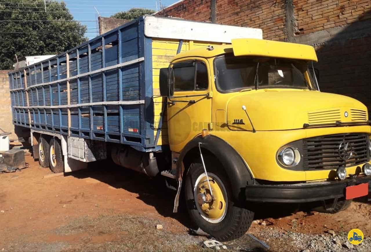 CAMINHAO MERCEDES-BENZ MB 1113 Cavalo Mecânico Truck 6x2 Globo Caminhões Helio Maringá MARINGA PARANÁ PR