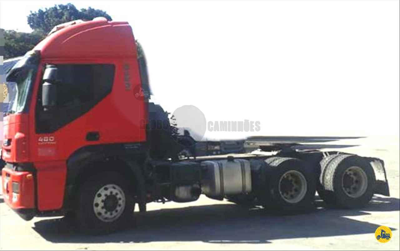 CAMINHAO IVECO STRALIS 480 Cavalo Mecânico Traçado 6x4 Globo Caminhões Helio Maringá MARINGA PARANÁ PR