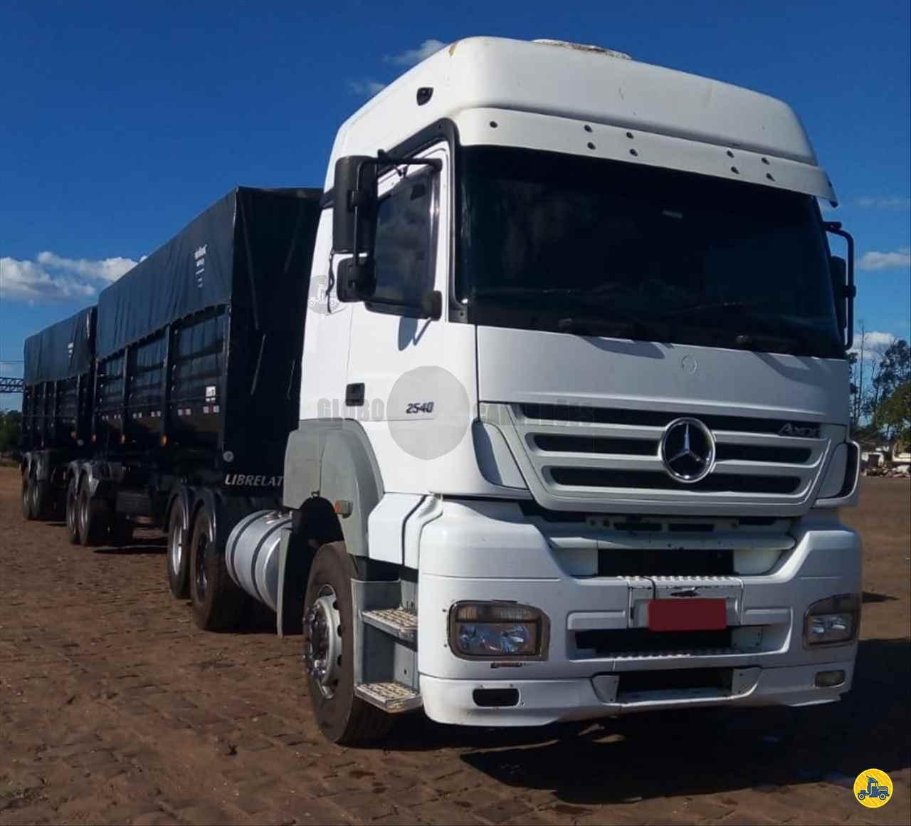 CAMINHAO MERCEDES-BENZ MB 2540 Cavalo Mecânico Truck 6x2 Globo Caminhões Helio Maringá MARINGA PARANÁ PR