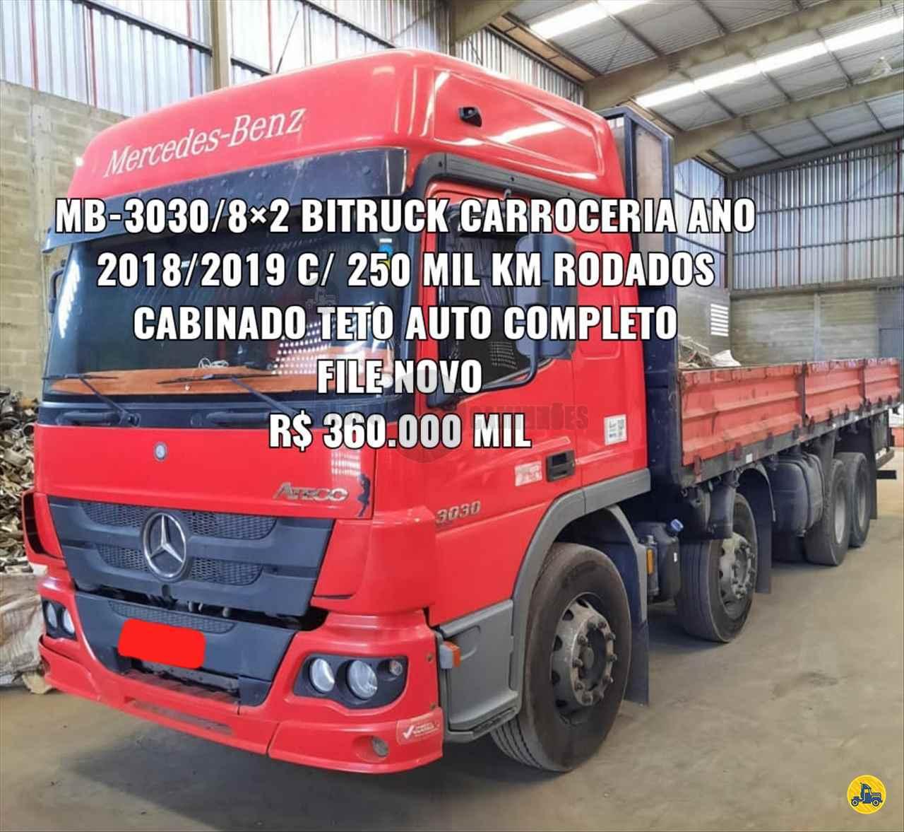 CAMINHAO MERCEDES-BENZ MB 3030 Cavalo Mecânico BiTruck 8x2 Globo Caminhões Helio Maringá MARINGA PARANÁ PR