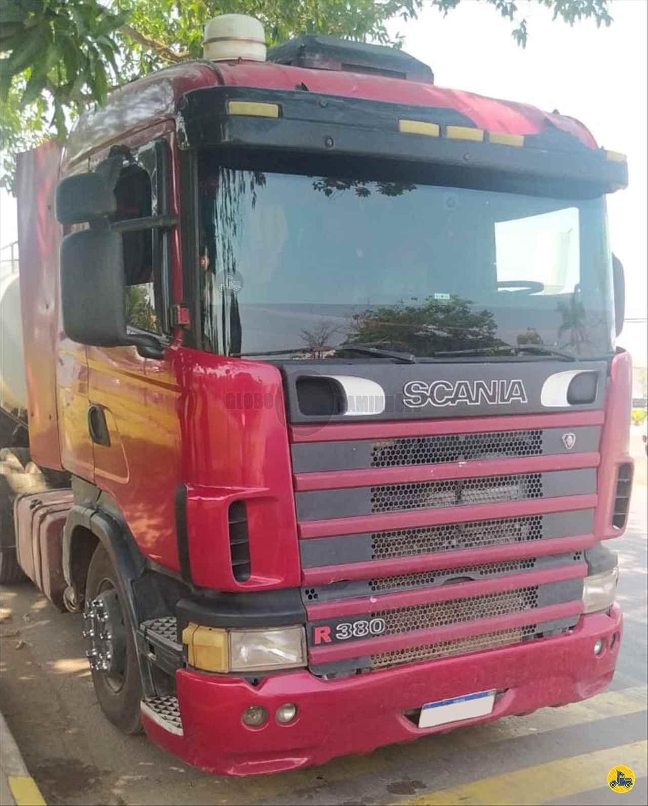 SCANIA 380 de Globo Caminhões Helio Maringá - MARINGA/PR