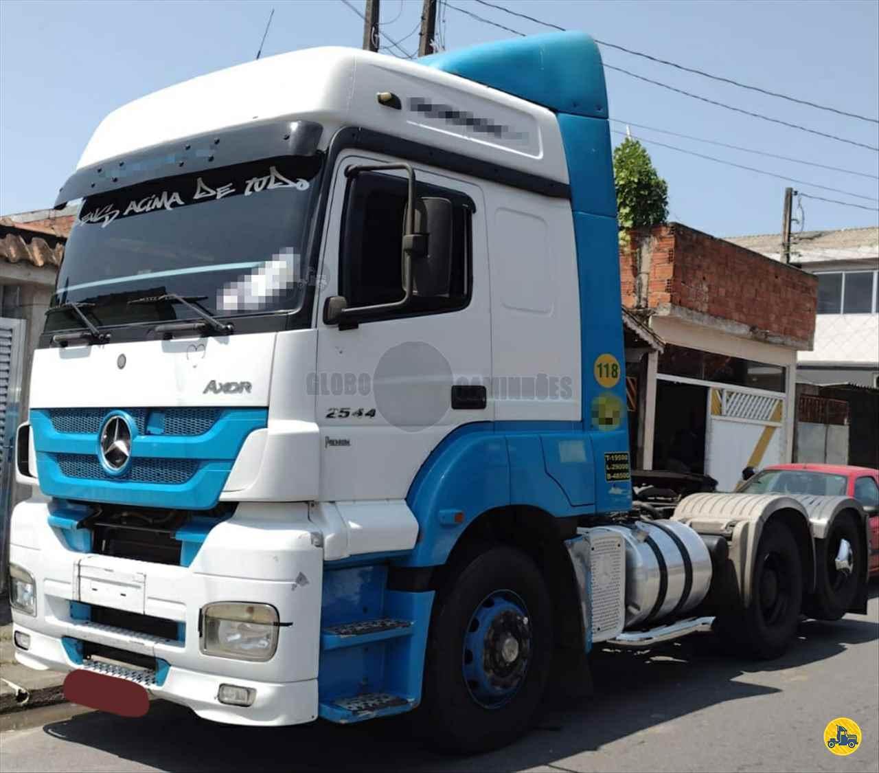 CAMINHAO MERCEDES-BENZ MB 2544 Cavalo Mecânico Truck 6x2 Globo Caminhões Helio Maringá MARINGA PARANÁ PR