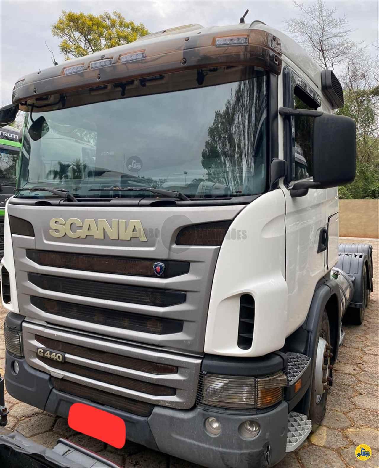 CAMINHAO SCANIA SCANIA 440 Cavalo Mecânico Truck 6x2 Globo Caminhões Helio Maringá MARINGA PARANÁ PR