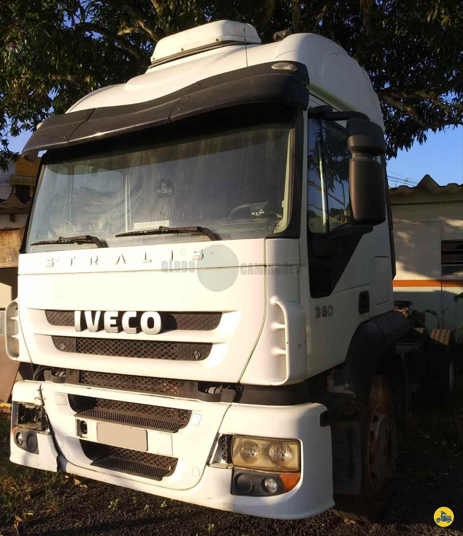 CAMINHAO IVECO STRALIS 360 Cavalo Mecânico Truck 6x2 Globo Caminhões Helio Maringá MARINGA PARANÁ PR