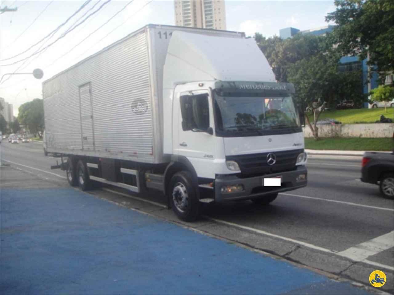 CAMINHAO MERCEDES-BENZ MB 2425 Baú Furgão Truck 6x2 Zezinho Caminhões SAO PAULO SÃO PAULO SP