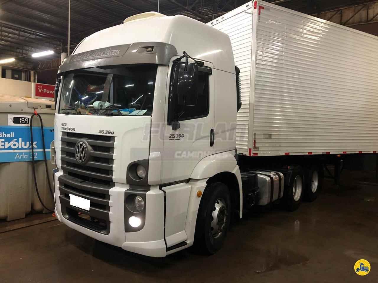 CAMINHAO VOLKSWAGEN VW 25390 Cavalo Mecânico Truck 6x2 Furlan Caminhões UMUARAMA PARANÁ PR