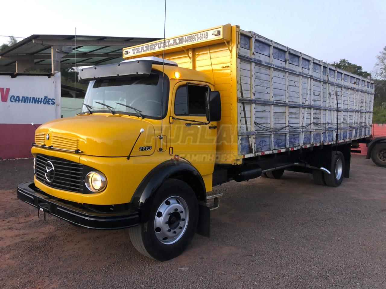 CAMINHAO MERCEDES-BENZ MB 1113 Boiadeiro Toco 4x2 Furlan Caminhões UMUARAMA PARANÁ PR