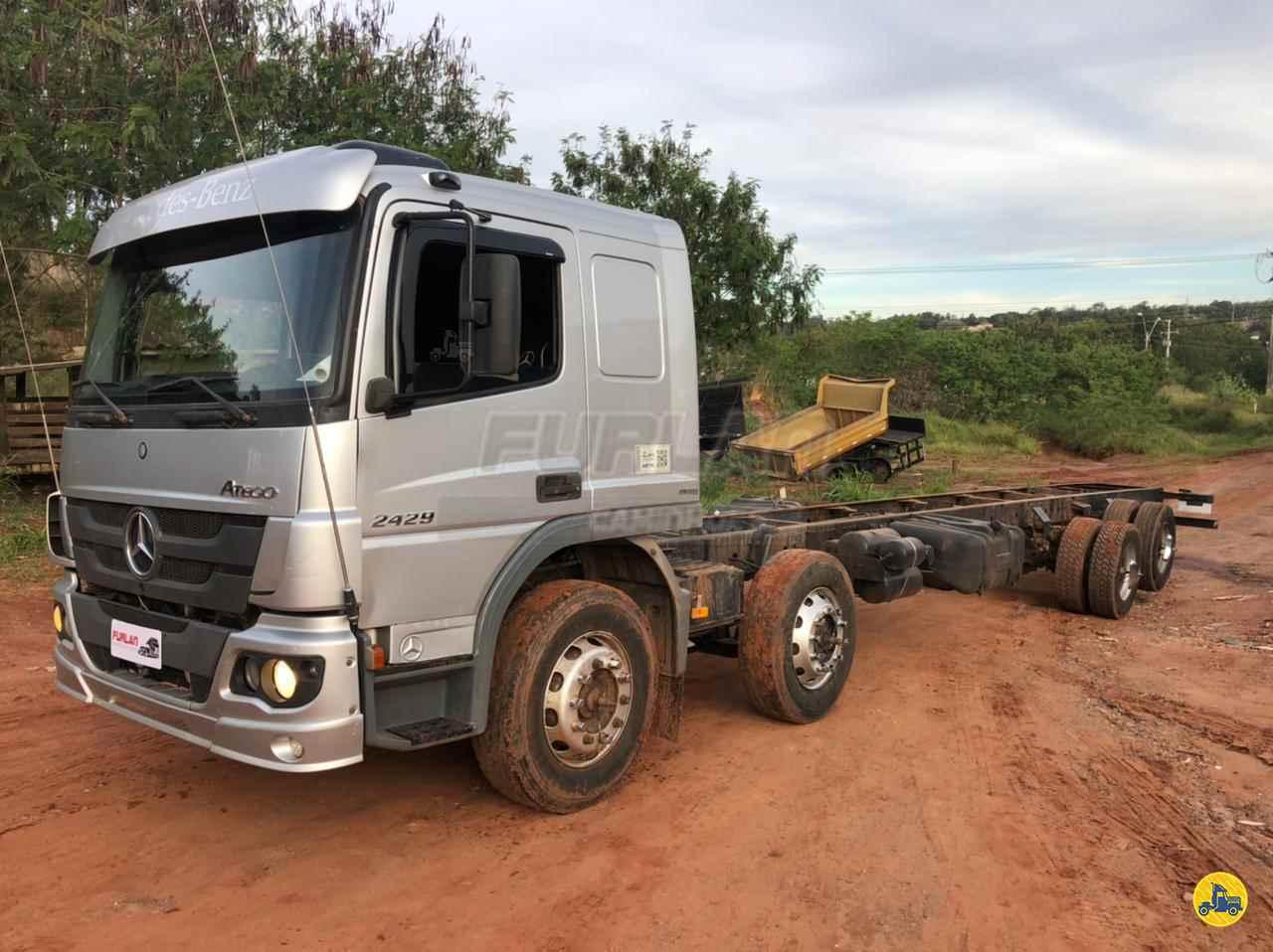 CAMINHAO MERCEDES-BENZ MB 2429 Chassis BiTruck 8x2 Furlan Caminhões UMUARAMA PARANÁ PR