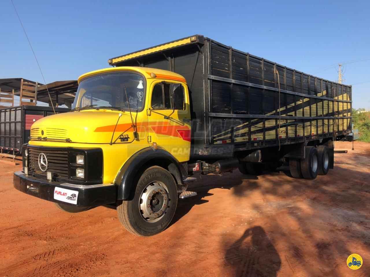 CAMINHAO MERCEDES-BENZ MB 1513 Boiadeiro Truck 6x2 Furlan Caminhões UMUARAMA PARANÁ PR